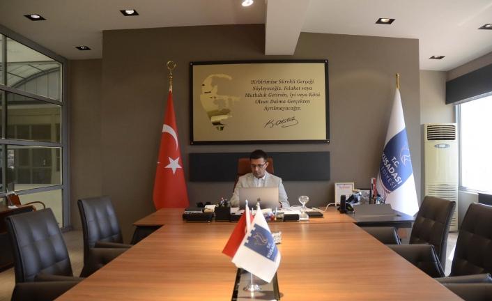 Başkan Günel, Kılıçdaroğlu´na belediye çalışmaları hakkında bilgi verdi
