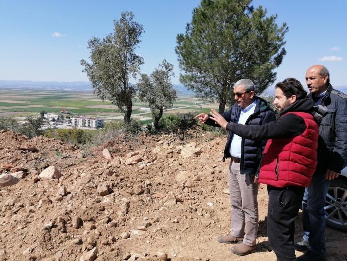 Başkan Kaplan yapımı devam eden projeleri yerinde inceledi