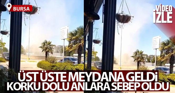 Bursa'da üst üste meydana gelen hortum tedirginliğe neden oldu