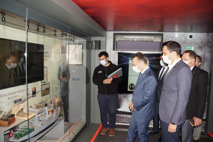 Çanakkale Savaşları Mobil Müzesi Aydın´a geldi
