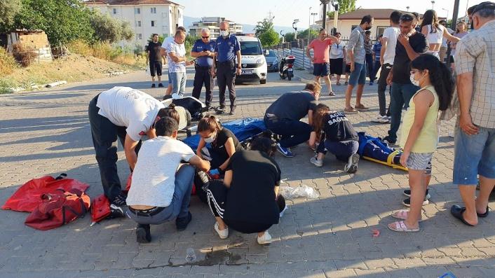Çocukların elektrikli bisikletle gezisi faciayla sonuçlandı