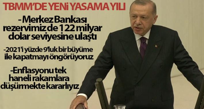 Cumhurbaşkanı Erdoğan'dan Merkez Bankası Rezervi açıklaması!
