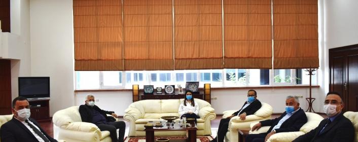 Beydoğan, Aydın Ticaret Borsası Başkanı Çondur ile görüştü
