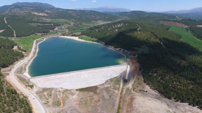 DSİ son 18 yılda Denizli´de 18 baraj ve 10 gölet yaptı