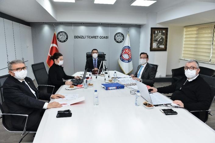 DTO Meclisi Kasım ayı toplantısı internet ortamında gerçekleştirildi