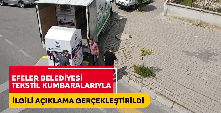 Efeler Belediyesi o iddialara açıklık getirdi!