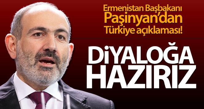 Ermenistan Başbakanı Paşinyan: 'Türkiye ile diyaloğa hazırız'