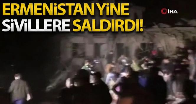 Ermenistan ordusu,Gence'ye füze saldırısı düzenledi!