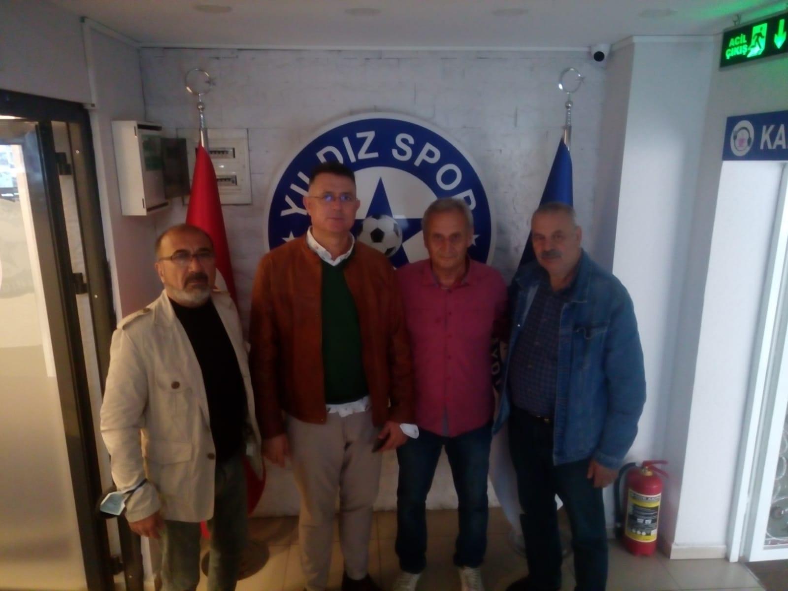 Ferhatoğlu ve Aslan'dan Yıldızspor'a ziyaret