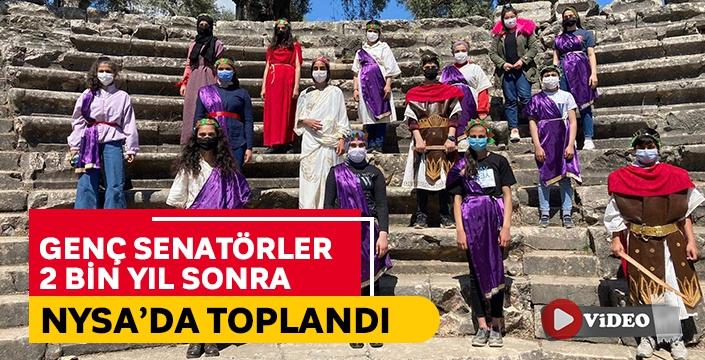 Genç senatörler 2 bin yıl sonra Nysa'da toplandı