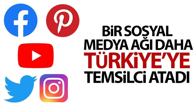 Sosyal ağ sağlayıcılarından Türkiye'ye temsilci atamayan kalmadı