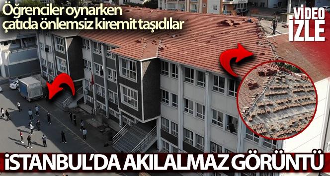 İstanbul'da akılalmaz görüntü