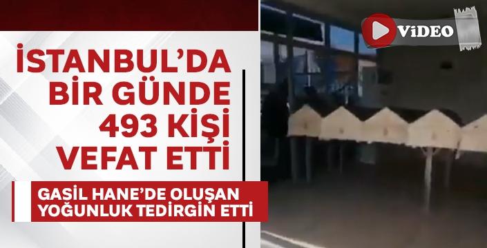 İstanbul'da bir günde 493 kişi vefat etti, gasil hanedeki yoğunluk şok etti!