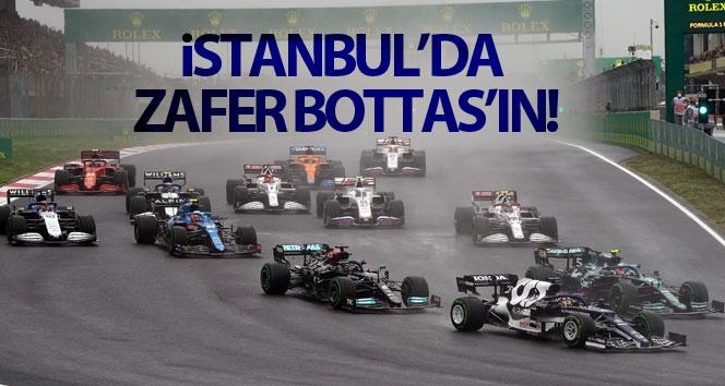İstanbul'da zafer Bottas'ın