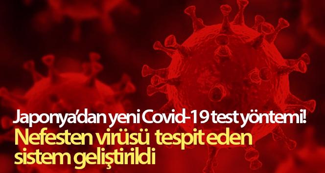 Japonya'dan yeni Covid-19 test yöntemi! Nefesten virüsü tespit eden sistem geliştirildi