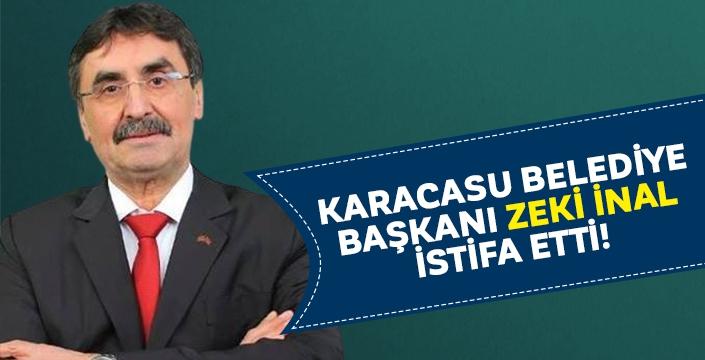Karacasu Belediye Başkanı Zeki İnal istifa etti!