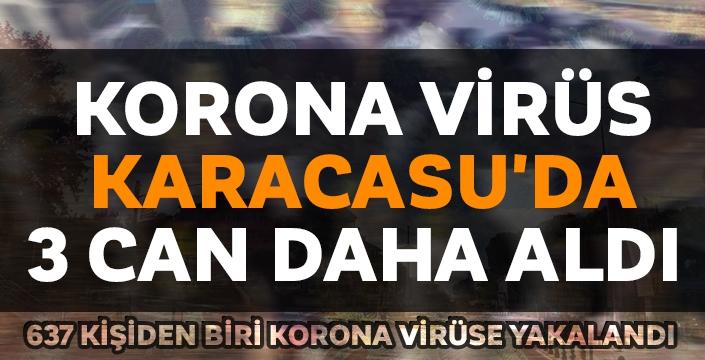 Karacasu'da her 637 kişiden biri Korona virüse yakalandı