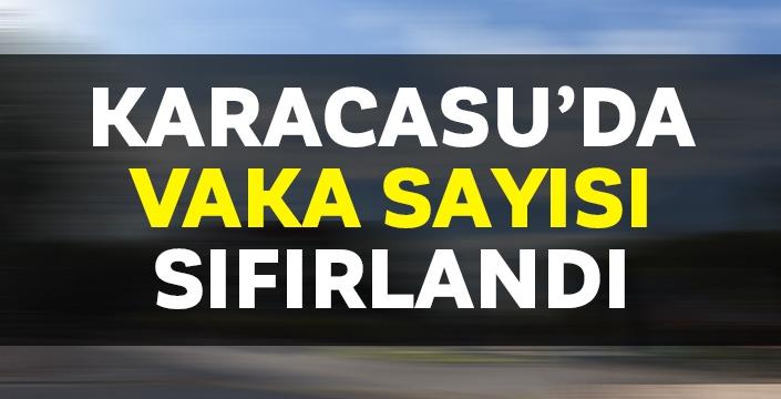 Karacasu'da pozitif vakalar kontrol altına alındı