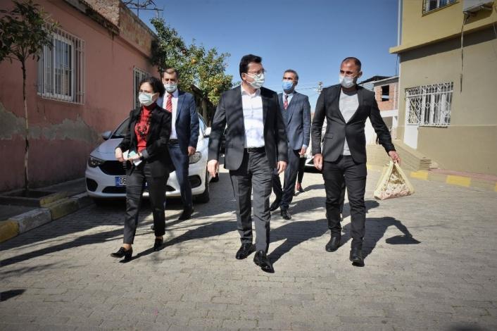 Kaymakam Şahin Ovaeymir Mahallesi sakinleri ile bir araya geldi