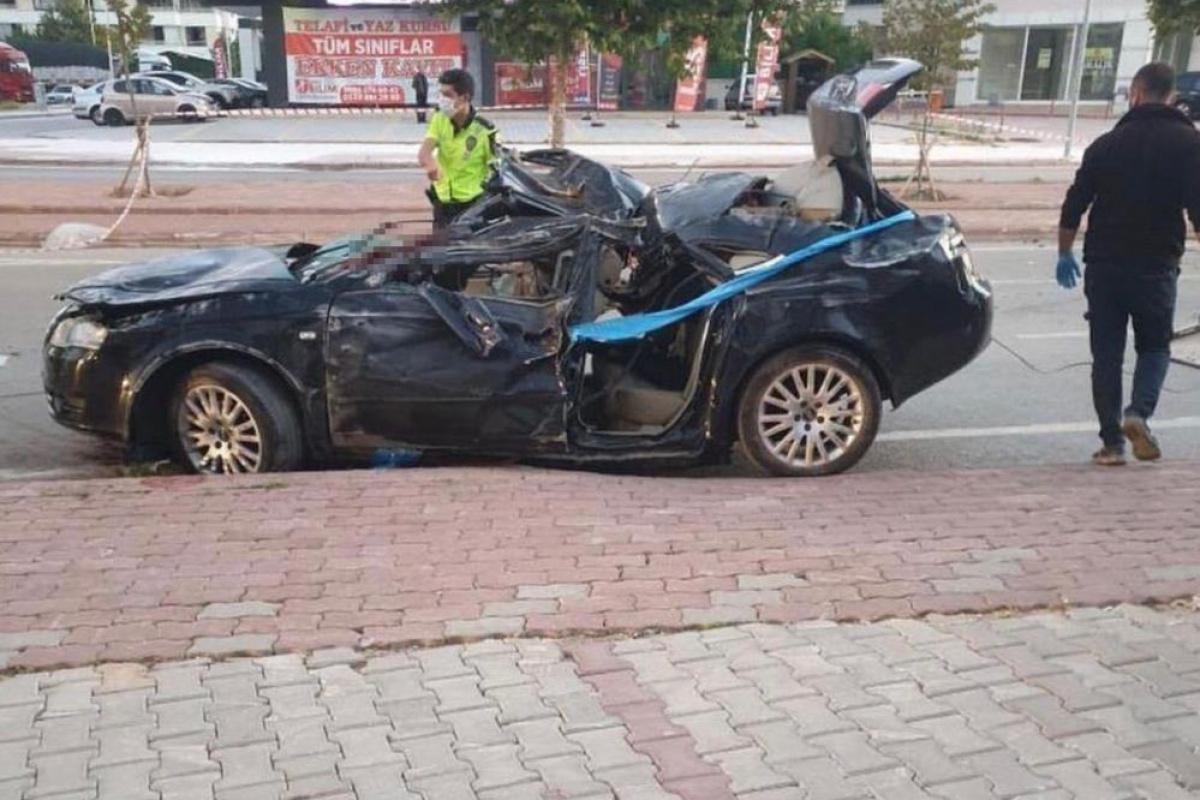 Konya'da feci kaza! Otomobil takla attı: 3 ölü, 1 yaralı