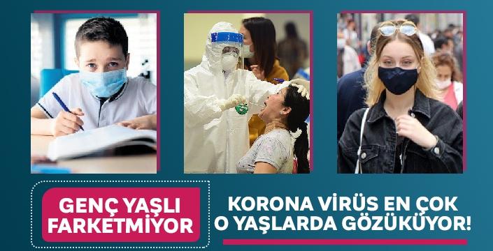Korona virüs vakalarında o yaş grubunda artış var!