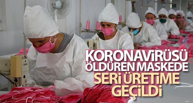 Koronavirüsü öldürüyor, seri üretime geçildi!
