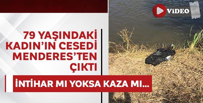 Koyun otlatırken Menderes'te ceset buldular! Kaza mı yoksa intihar mı...