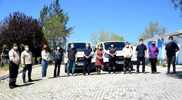 Kuşadası Belediyesi Haybulans aracını ikiye yükseltti