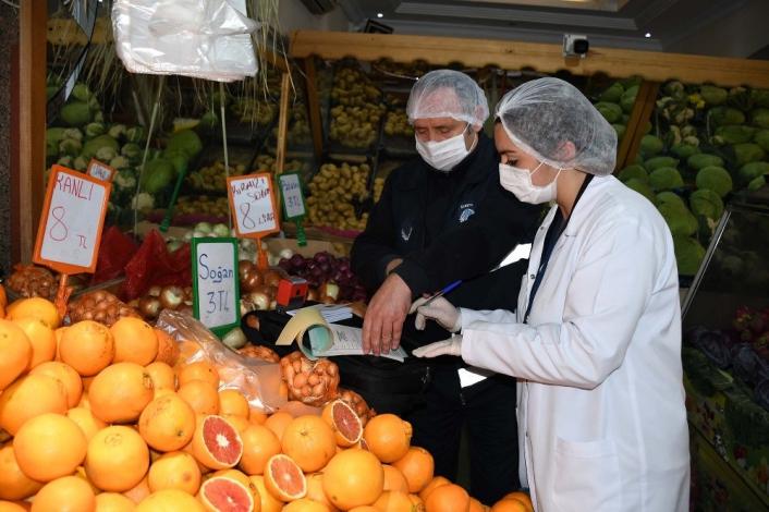 Kuşadası´nda 2 ayda 272 kilo sağlıksız gıda maddesi imha edildi