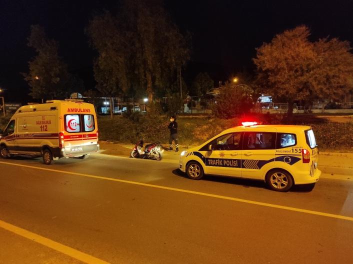 Kuşadası´nda motosiklet kazası: 2 yaralı
