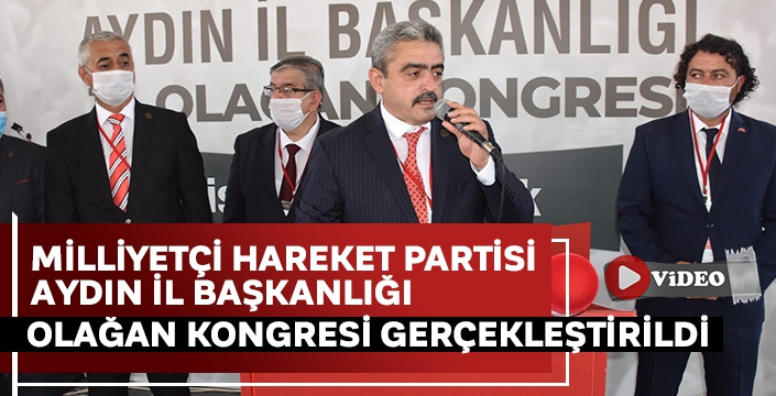 MHP Aydın İl Başkanı Alıcık, güven tazeledi! İşte yönetim kurulunda yer alan isimler..