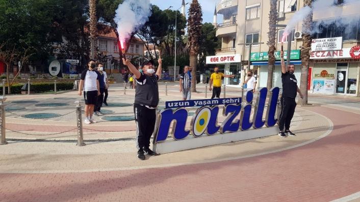 Nazilli Belediyespor taraftarı şampiyonluğu kutlayamadı