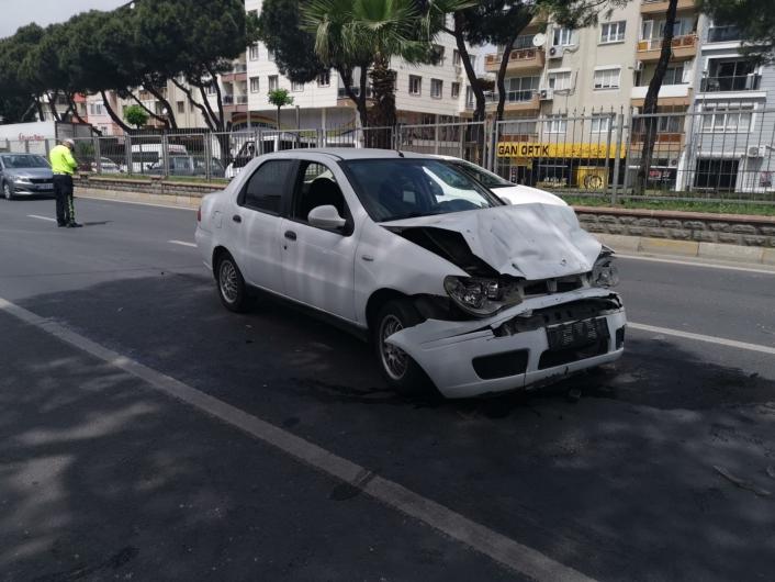 Nazilli´de trafik kazası: 1 yaralı