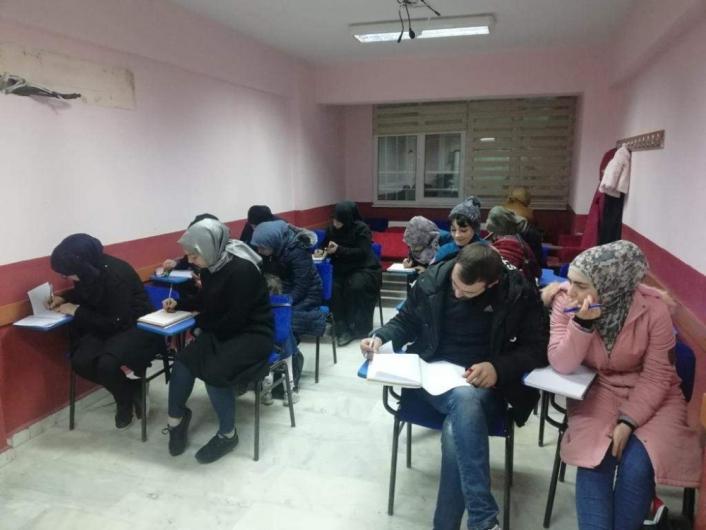 Nazilli´deki yabancılar Türkçe eğitim aldı