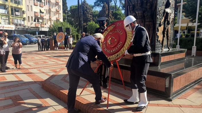 Nazilli´nin düşman işgalinden kurtuluşunun 99. yıldönümü törenle kutlandı