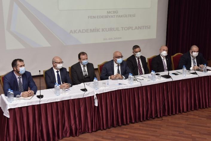 Rektör Ataç Fen Edebiyat Fakültesinde incelemelerde bulundu