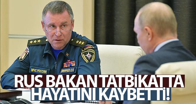 Rus Bakan tatbikatta hayatını kaybetti