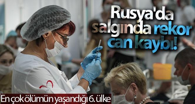Rusya'da korona virüs salgınında son 24 saatte 820 kişi hayatını kaybetti