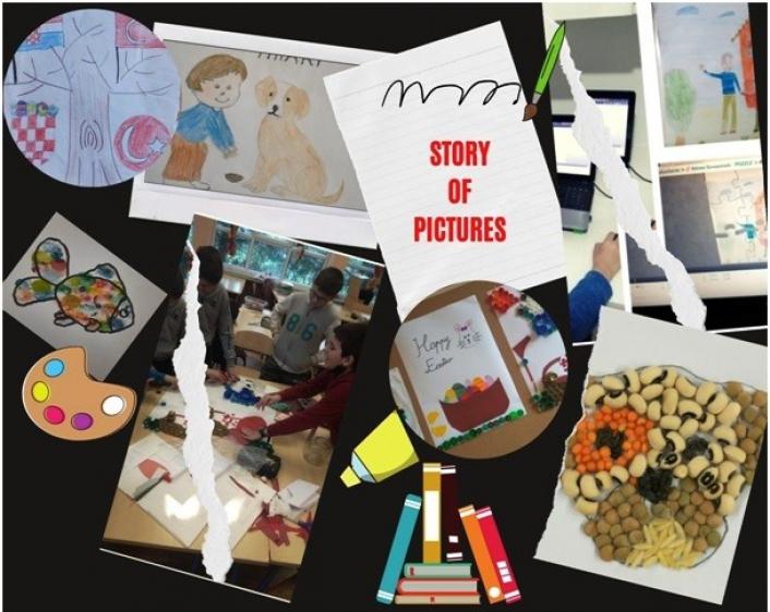 Şehit Cafer Ortaokulu´nda öğrenciler proje çalışmaları ile kendini ifade ediyor