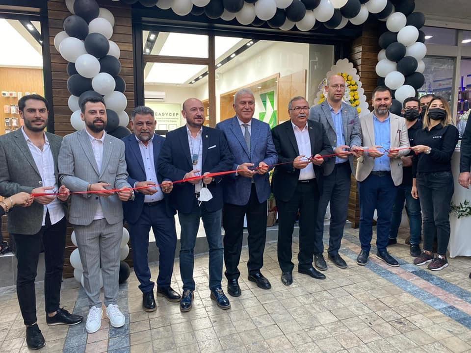 Türkiye'nin en büyük yenilenmiş elektronik mağazası Easycep'in Aydın Mağazası hizmete açıldı
