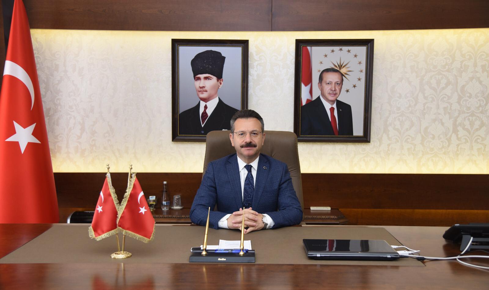 Valimiz Sayın Hüseyin Aksoy'un 30 Ağustos Zafer Bayramı Mesajı