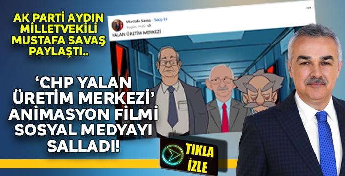 Vekil Savaş paylaştı! 'YALAN ÜRETİM MERKEZİ' animasyonu sosyal medyada gündem oldu..