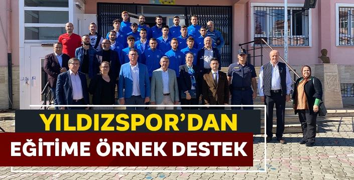 Yıldızspor'dan eğitime örnek destek